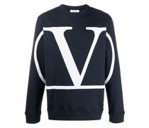 Sweatshirt mit 'VLOGO'-Print