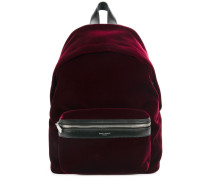 zipped pocket backpack