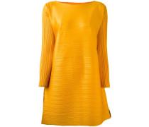 Plissiertes Oversized-Kleid
