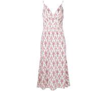 printed midi slip dress