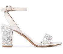 'Leticia' Sandalen mit Kristallen, 65mm