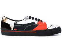 Bauhaus print sneakers