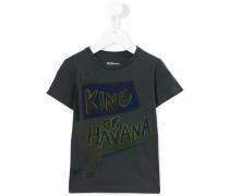 - 'King Of Havana' T-Shirt - kids - Baumwolle - 4