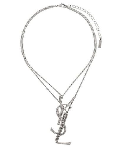 Halskette mit Logo-Anhänger