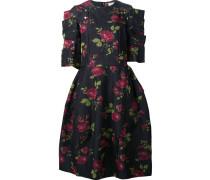 Kleid mit Rosen-Prints