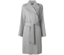 Mantel mit Taillengürtel