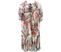 Ausgestelltes Kleid mit Print - women - Viskose