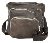 multiple zipped pockets crossbody bag