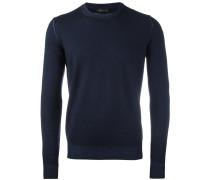 Gestrickter Pullover mit rundem Ausschnitt