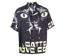 x Dario Argento Il Gatto a Nove Code short-sleeve shirt