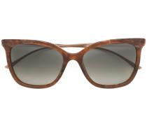 Sonnenbrille mit dünnen Bügeln