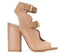 Sandalen mit Doppelriemen - women - Leder - 40