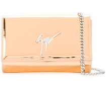 mirrored chain wallet