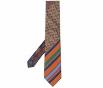 Gestreifte Krawatte mit Paisleymuster