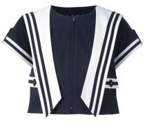 sailor style cropped jacket - women