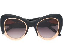 Cat-Eye-Sonnenbrille mit Oversized-Design