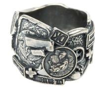 Breiter Ring aus Silber