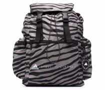 Rucksack mit Zebra-Print