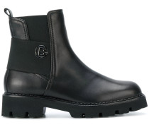 Chelsea-Boots mit Logo