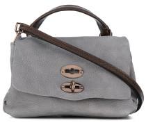 Handtasche mit doppeltem Verschluss