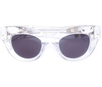 Verzierte Cat-Eye-Sonnenbrille - women - Acetat