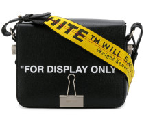 'For Display Only' Schultertasche