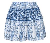 - Plissierte Shorts mit Print - women - Baumwolle