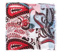 Schal mit Paisley-Print - men - Leinen/Flachs