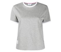 T-Shirt mit gestuftem Saum