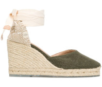 'Carina' Wedge-Espadrilles, 80mm