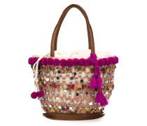 Mittelgroße 'Fiji Tuk Tuk' Handtasche