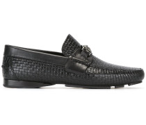 Loafer mit Webmuster - men - Leder/rubber - 40.5