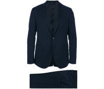tailored V-neck suit