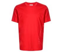 Schmales T-Shirt mit Logo-Print