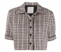 Kurze Tweed-Jacke