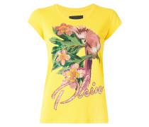T-Shirt mit Kakadu-Print - women - Baumwolle - L