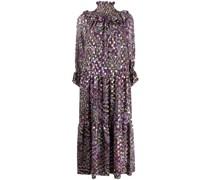 P.A.R.O.S.H. Langes Metallic-Kleid