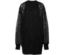 Pulloverkleid mit Spitze