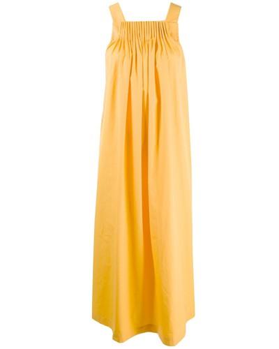'Evita' Kleid mit Faltendetails