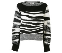 Klassischer Jacquard-Pullover