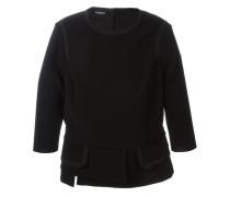 Pullover mit Saum im Lagen-Look