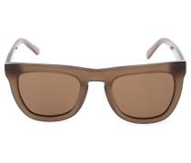 Sonnenbrille mit flacher Oberseite