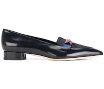 Loafer mit Kontrasteinsatz