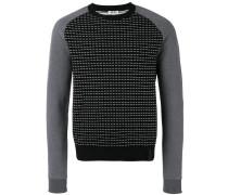 Intarsien-Pullover mit Rundhalsausschnitt - men