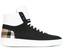 "High-Top-Sneakers mit ""House""-Karomuster - men"