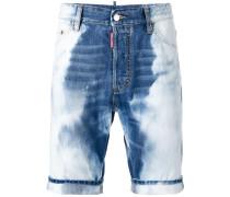 Gebleichte Jeansshorts