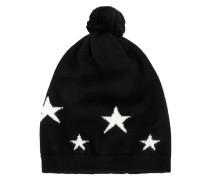 - Star Intarsia hat - women - Kaschmir
