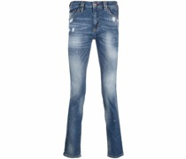 Slim-Fit-Jeans im Distressed-Look