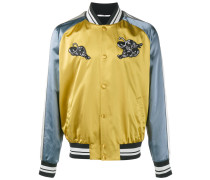 Bomberjacke mit Panther-Patches