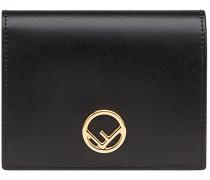 logo fold out purse